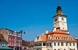 Council Square in Brasov (Romania) Stock Image