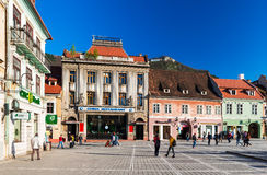 Council Square in Brasov, Romania Royalty Free Stock Photos