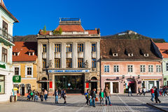Council Square in Brasov, Romania Royalty Free Stock Images