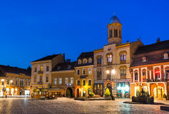 Council Square, Brasov, Romania Stock Images