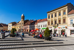 Council Square, Brasov, Romania Royalty Free Stock Images