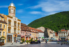 Council Square, Brasov, Romania Royalty Free Stock Photography
