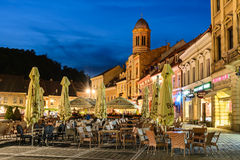 Council Square, Brasov, Romania Stock Photo