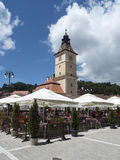 The Council Square, Brasov, Romania Stock Images