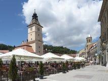 The Council Square, Brasov, Romania royalty free stock photos