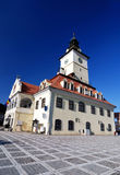 Council Square of Brasov, in Transylvania, Romania Stock Photos