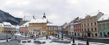 The Council Square (Piata Sfatului) Brasov, Transylvania Stock Image