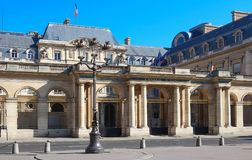 The Council of State , Paris, France. The Council of State is an administrative court of the French government, Paris, France Stock Photo