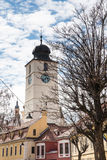 Council Tower in Sibiu Royalty Free Stock Images
