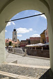 The Council Tower in Sibiu - Romania Royalty Free Stock Photography