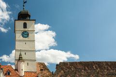 The Council Tower Of Sibiu Royalty Free Stock Image