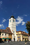 Council Tower in Sibiu, Romania Stock Image