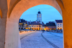 Council Tower, Sibiu, Romania Royalty Free Stock Image