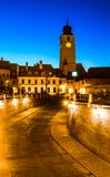Council Tower, Sibiu, Transylvania royalty free stock photo