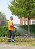 Council workman gardener Stock Photos
