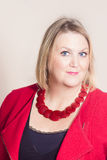 Councillor Karen Constantine. Labour prospective candidate for Ramsgate for Kent County Council Royalty Free Stock Image