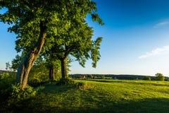 Counrtyside checo en verano imagen de archivo libre de regalías