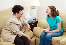 Counseling - Friendly Conversation Stock Image
