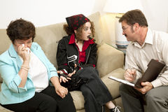 Counseling - Mom Drives Me Crazy stock photos