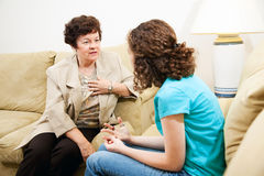 Counseling Session - Empathy Royalty Free Stock Photos