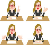 Counseling staff Royalty Free Stock Photo