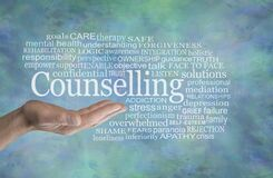Free Counselling Word Cloud English Spelling Stock Photo - 188842210