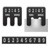 Count-down angebrachter mechanischer Timer Stockfotos