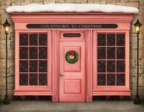 Count-down zum Weihnachten lizenzfreies stockfoto