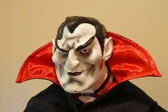 Count Dracula. Portrait of a life size Count Dracula royalty free stock photo