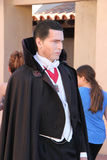Count Dracula at Universal Studios Hollywood Stock Photos