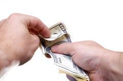 Count money Stock Photo