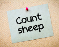 Count Sheep Stock Photo