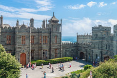 Count Vorontsov Palace in Alupka Royalty Free Stock Image