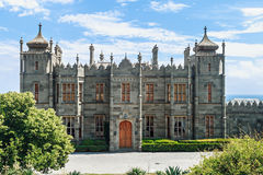 Count Vorontsov Palace in Alupka, Crimea Stock Photo