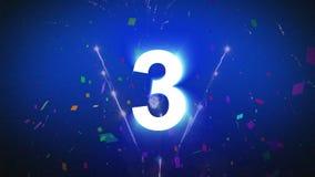 countdown ilustração stock