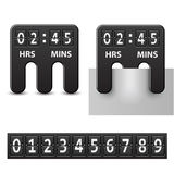 Countdown attached mechanical timer Stock Photos