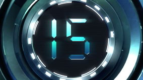 Countdown Ball Royalty Free Stock Photo