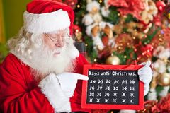 Countdown for Christmas is over Stock Photos