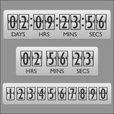 Countdown clock timer Royalty Free Stock Images