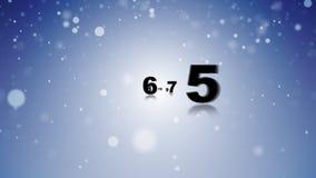 Countdown happy year Royalty Free Stock Photos