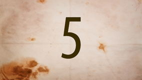 Countdown stock video