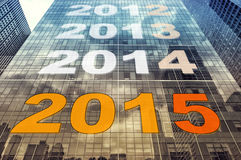 Countdown 2015 Royalty Free Stock Image