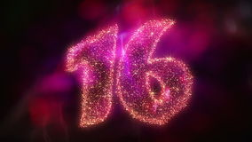 Countdown Sparks. 30 seconds high quality countdown animation for party, new year, birthdate, and other events