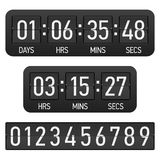 Countdown timer Stock Images