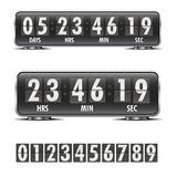 Countdown timer Stock Image