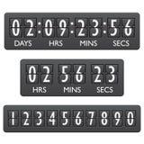 Countdown timer emblem royalty free illustration