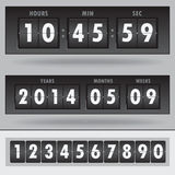 Countdown timer Stock Photos