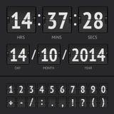 Countdown timer Stock Photo