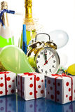 Countdown to midnight Stock Images