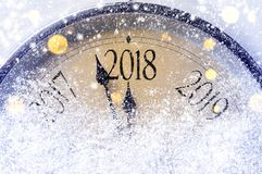 Countdown to midnight Royalty Free Stock Images